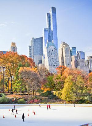 Central Park, New York - schaatsen