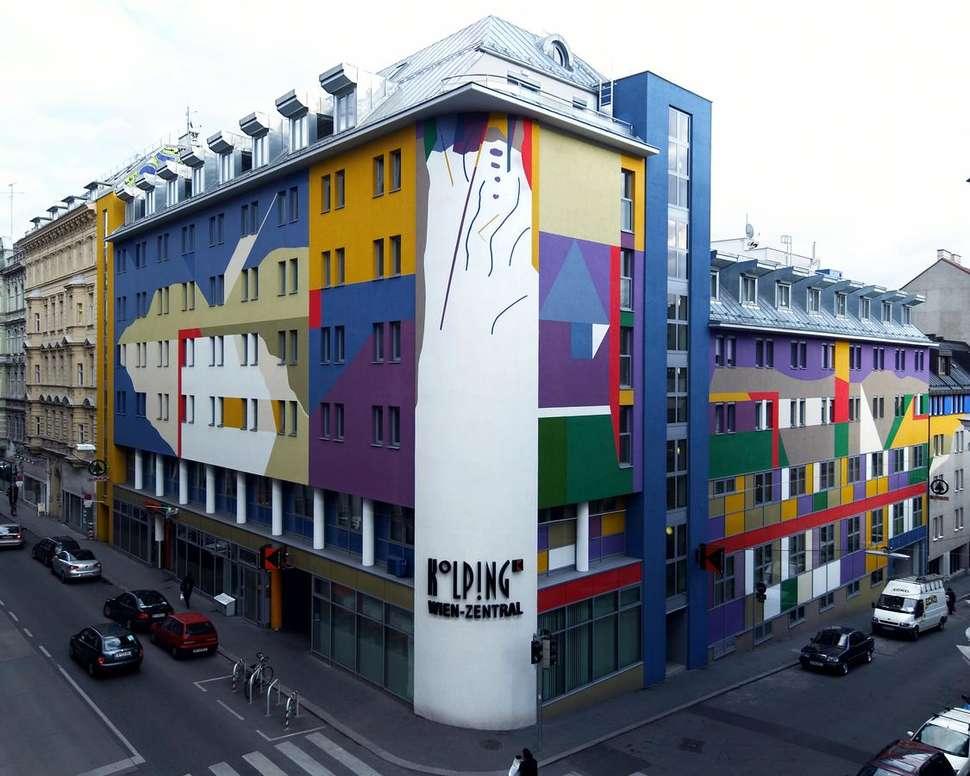 Mooiste bibliotheken, Hotel Kolping Wien Zentral