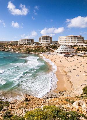 Zon meivakantie bestemmingen: Malta