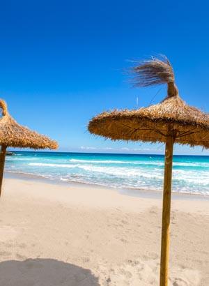 Badplaatsen Menorca: Cala Blanca
