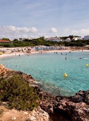Badplaatsen Menorca: Cala'n Bosch
