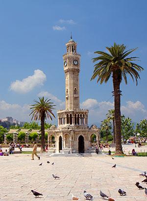 Badplaatsen Noord-Egeïsche Kust: Izmir