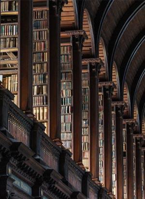 Mooiste bibliotheken, Dublin Trinity College