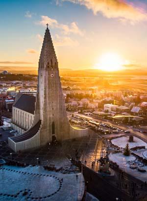 Doen in Reykjavik: Hallgramskirkja