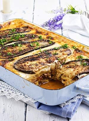 Specialiteiten uit de Griekse keuken: moussaka