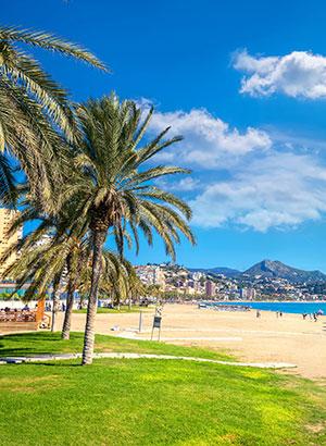 Handleiding Málaga, 4 dagen: strand