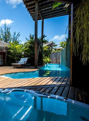 Hippiedorpje Pipa, Brazilië: hotels