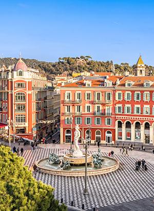 Leukste Franse steden: Nice