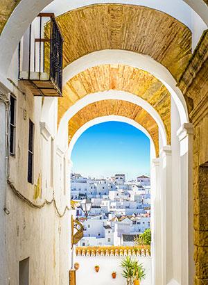 Mooiste witte dorpjes Andalusië: Vejer de La Frontera