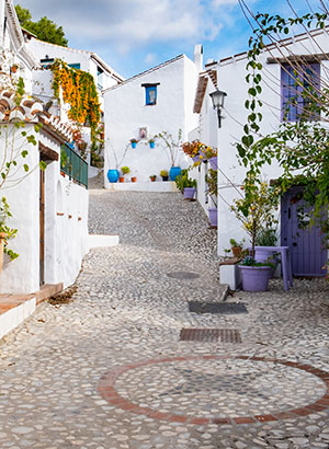 Mooiste witte dorpjes Andalusië: Frigiliana