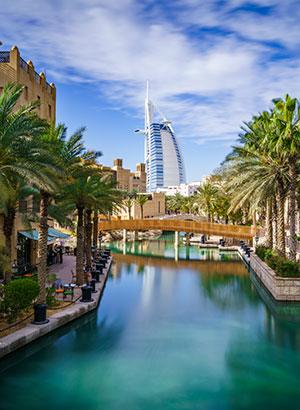 Steden buiten Europa: Dubai