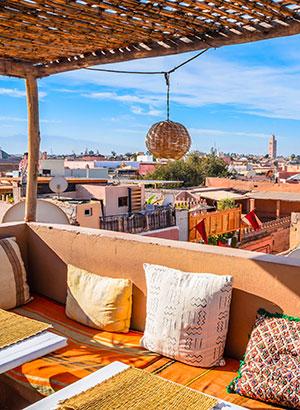 Steden buiten Europa: Marrakech