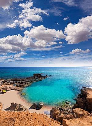 Welke eilanden Balearen: Formentera