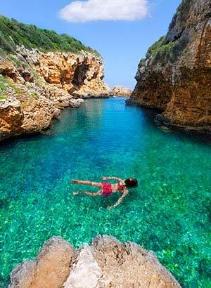 Welke eilanden Balearen: Menorca