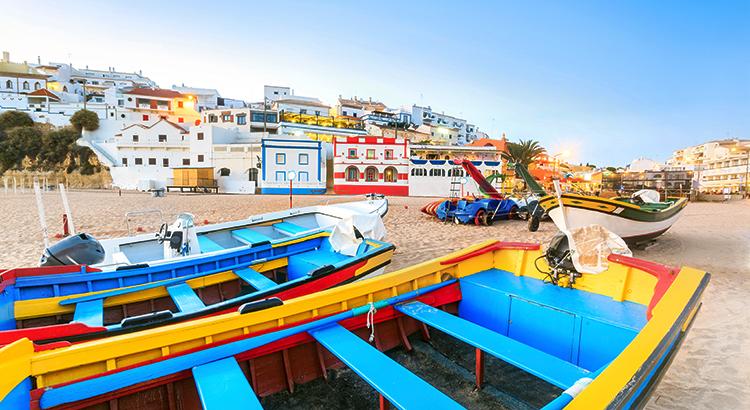 Carvoeiro, vissersplaatsje Algarve