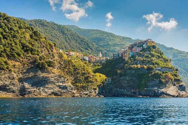 Cinque Terre Italië, Corniglia