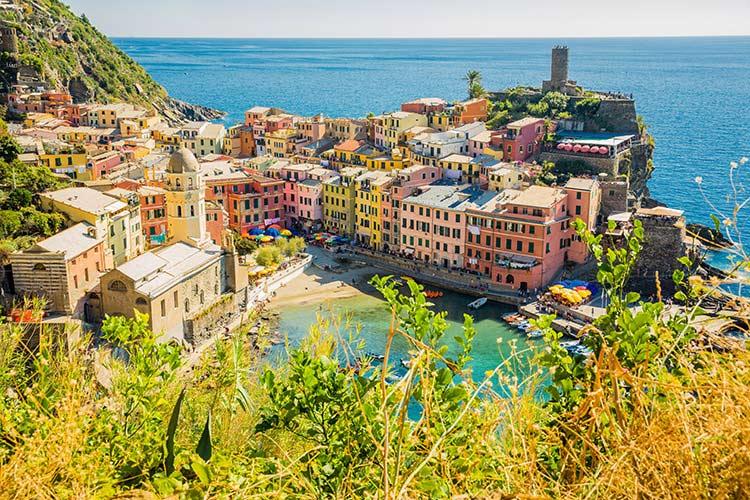 Cinque Terre Italië, Vernazza