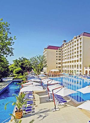 Golden Sands, badplaats Bulgarije: hotels
