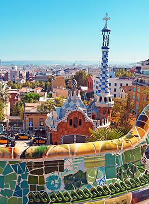 Leukste stadsparken: Parc Guell, Barcelona