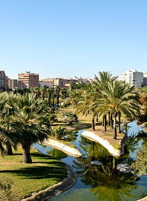 Leukste stadsparken: Turia Park, Valencia