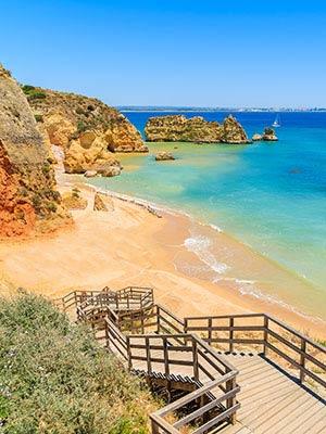 Mooiste stranden Algarve, Praia Donna Ana