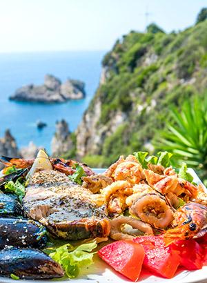 Redenen Corfu vakantie: eten