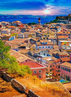 Redenen Corfu vakantie: hoofdstad