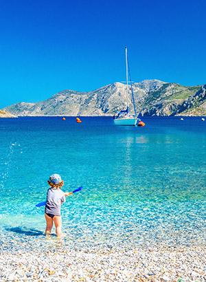 Redenen Corfu vakantie: kindvriendelijkheid