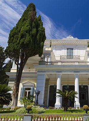 Redenen Corfu vakantie: paleis Sissi