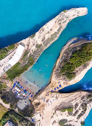 Redenen Corfu vakantie: stranden