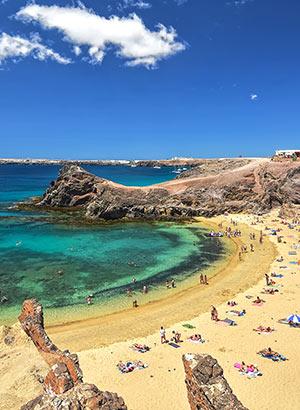 Wat te doen op Lanzarote: stranden