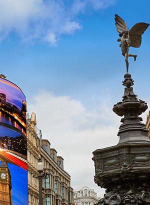 Bezienswaardigheden Londen, Piccadilly Circus