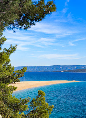 Doen in Split: omgeving