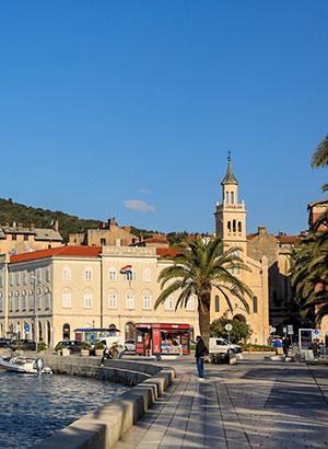 Doen in Split: Riva Boulevard