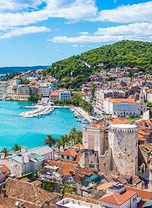 Doen in Split: uitzicht