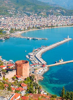 Doen Turkse Rivièra: Alanya