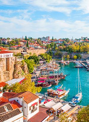 Doen aan de Turkse Riviera: Antalya