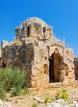Kasteel van Alanya, Turkije: geschiedenis