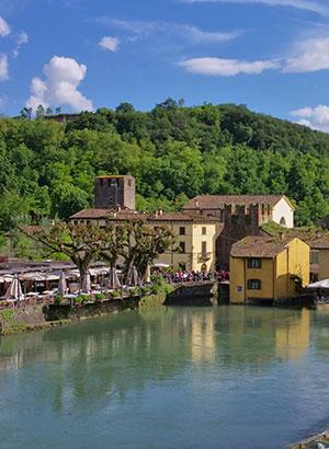Mooiste kastelen Italië: Castello Scaligero, Borghetto (Gardameer)