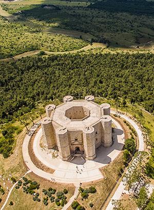Mooiste kastelen Italië: Puglia, Castel del Monte