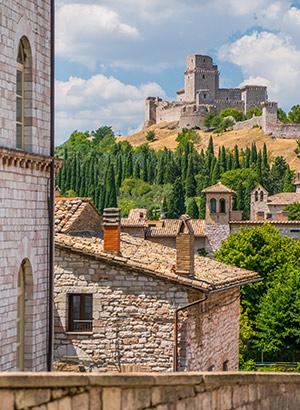 Mooiste kastelen Italië: Rocco Maggiore, Umbrië