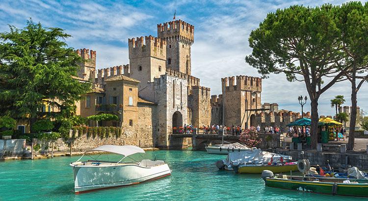 Mooiste kastelen Italië