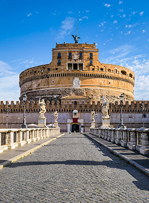 Mooiste kastelen Italië: Castel Sant' Angelo, Rome