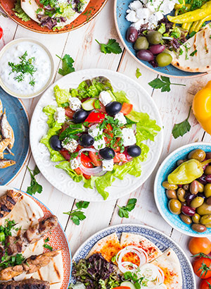 Redenen vakantie Griekenland: eten