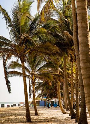 Redenen vakantie Gambia: strand