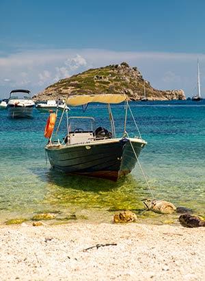 schildpadden Zakynthos: bootje huren