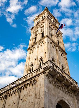 Trogir, UNESCO werelderfgoed Kroatië: kathedraal