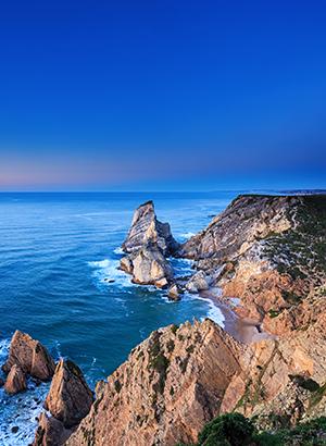 Vakantie Cascais, kustlijn