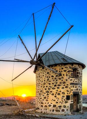Doen in Bodrum - windmolentjes