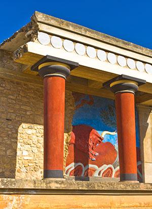 Alles over Knossos op Kreta
